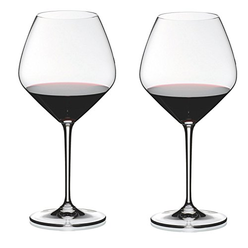 Riedel Heart to Heart Crystal Pinot Noir Wine Glass, Set of ()