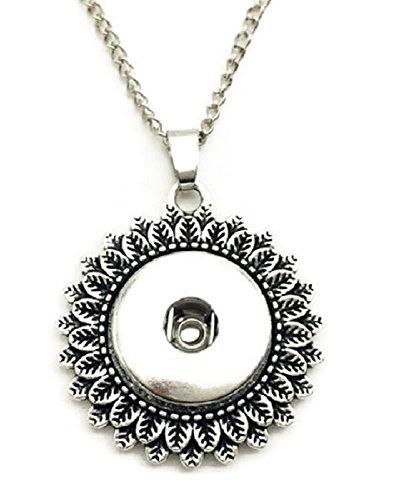 Antique Button Necklace - 1
