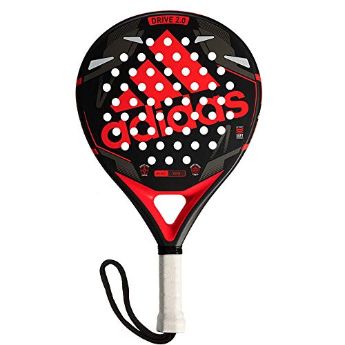 All for Padel Drive 2.0 Pala de pádel, Adultos Unisex, Red, Talla ...