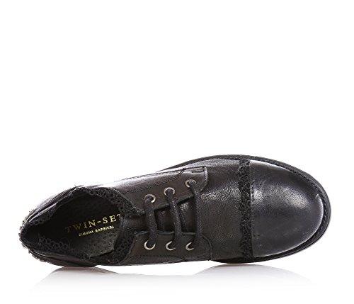 Barbieri Bimba Girls Twin Simona Shoes Noir Scarpe set 8141L 07pCpEW