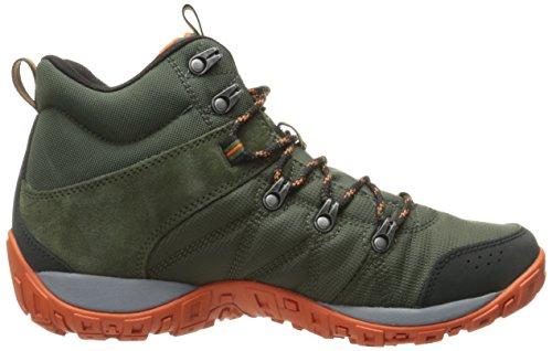 Columbia Mens Peakfreak Venture Mid Lt Hiking Boot Overschot Groen / Valencia