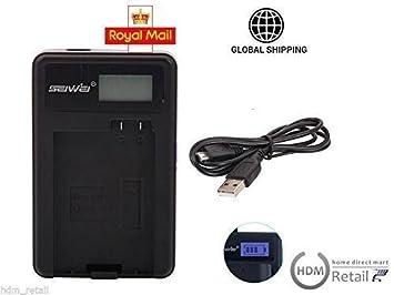 cargador batería USB MH-24 para Nikon D3100 D3200 D5100 ...