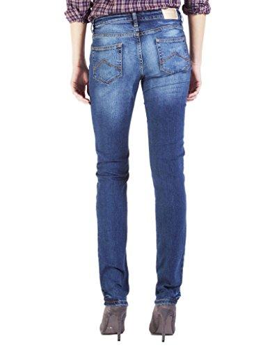 Sec Wash style Jeans Bleu normale taille taille denim Jeans extensible Moyen 727 pour Stone femme 752C0970A tissu style Carrera normale cigarette SRqUwp