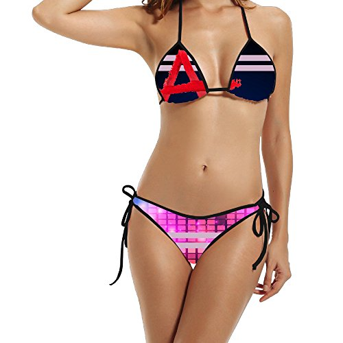 Deamoon A-Pretty Little Liar Women's Sexy Hot Padded Bra Swimsuit