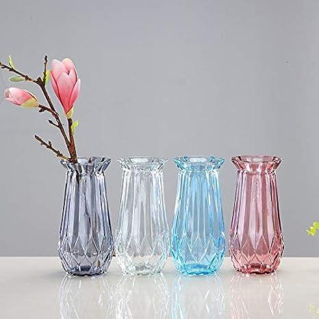 Chakil Pendentif Vase en Verre Oblique Transparent d/écoratif Culture de leau Fleur Vase Sph/érique cr/éatif La Maison d/écoration de Mariage 4