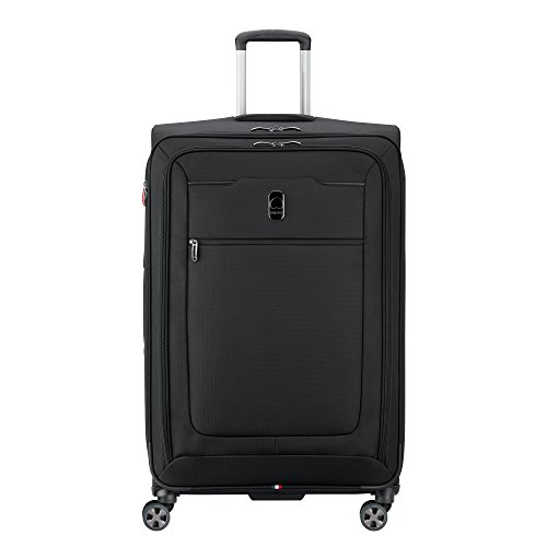 DELSEY Paris Hyperglide Large Checked Luggage, Black