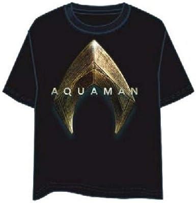 LAST LEVEL Camiseta Aquaman Talla L Camisa Cami, Multicolor, Adultos Unisex: Amazon.es: Ropa y accesorios