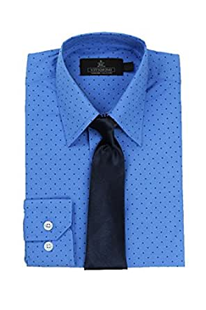 Vittorino Big Boy 39 S Polka Dot Dress Shirt And
