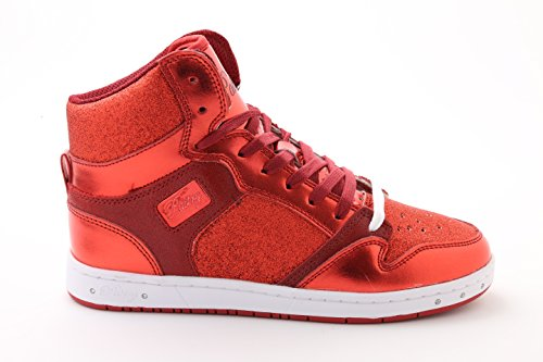 Pastry-Glam-Pie-Glitter-Dance-Sneakers-Red-Size-10