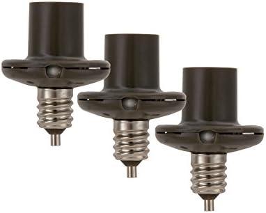 Control de Iluminaci/ón de Candelabro Utilitech Bronze Dusk-to-dawn Candelabra Light Control