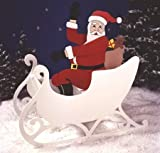 A Woodworking Pattern and Instructions Pkg to Build Your Own Sittin Pretty Santa