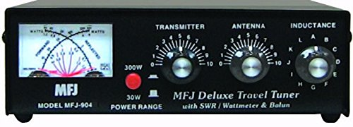 MFJ-904 MFJ904 Original MFJ Enterprises 10-80 M Travel Tuner - Meter by MFJ