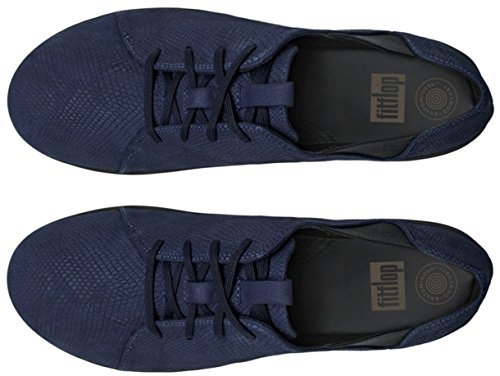 Fitflop F-sporty Laceup Sneaker - Zapatilla baja Mujer Midnight Navy