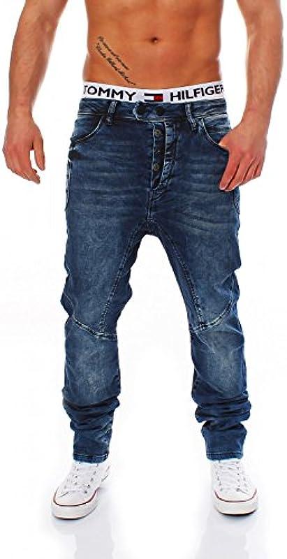 Cipo & Baxx dżinsy – C-44002 – Carrot Fit – Men/mężczyzn jogg spodni: Odzież