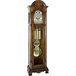 Hermle 010977N91161 Triple Chiming Mechanical Pennington Grandfather Clock - Cherry