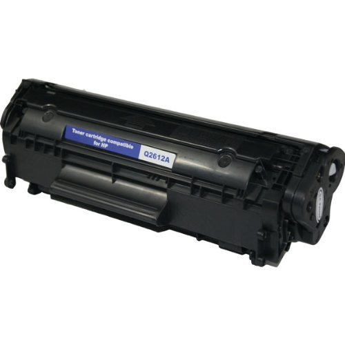 Toner Clinic ® TC-Q2612A Compatible Laser Toner Cartridge for HP Q2612A 12A Compatible with HP LaserJet HP LaserJet 1010, 1012, 1018, 1020, 1022, 1022n, 1022nw, 3015, 3020, 3030, 3050, 3052, 3055, M1319, M1319f