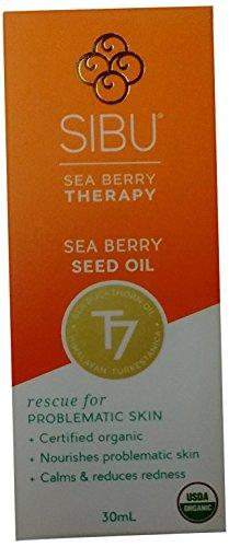 Sibu Sea Berry Seed Oil, Sea Buckthorn oil, 1 Fluid (Sea Buckthorn Seed)