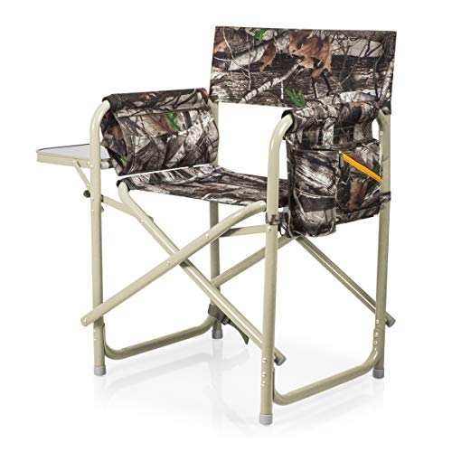 ONIVA - a Picnic Time brand Outdoor Directors Folding Chair, Camouflage