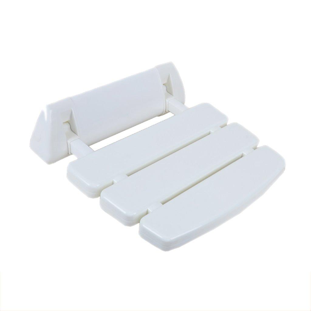 XUEPING バスルームバススツール折りたたみシャワー壁スツールウォールスツール障害シートスツールを交換する高齢者バスルームプラスチック製のアームレストスツール (色 : B) B07D6ZHGCM B B