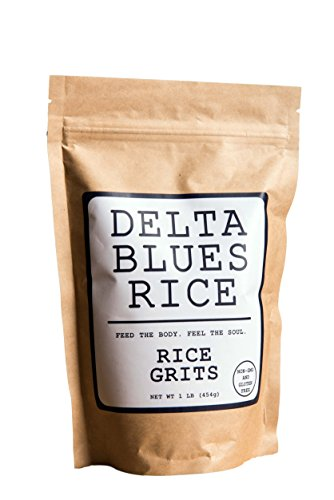Delta Blues Rice (White Rice Grits, 1 LB) (Mississippi Sausage)