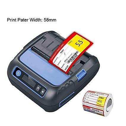 CICIN Impresora térmica Bluetooth de 80 mm, Impresora de ...