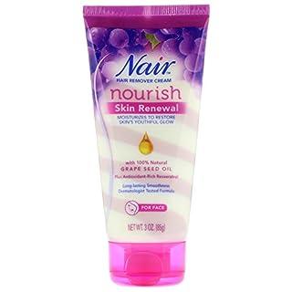 Nair Hair Remover Nourish Skin Renewal Face 3 Ounce (88ml)