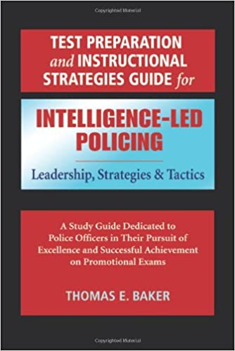 Test Preparation And Instructional Strategies Guide For Intelligence