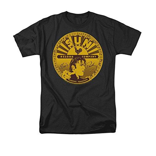 - Elvis Full-Sun Label -- Sun Records Adult T-Shirt, XX-Large