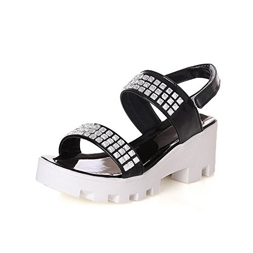 weenfashion-womens-pu-solid-hook-and-loop-open-toe-kitten-heels-sandals-black-39
