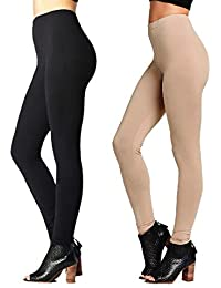 607f4a85079a58 Premium Ultra Soft High Waisted Leggings for Women - Regular and Plus Size  - Many Colors