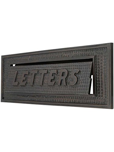 Standard Bungalow Mail Slot With Letters Front Plate Standard Mail Slot