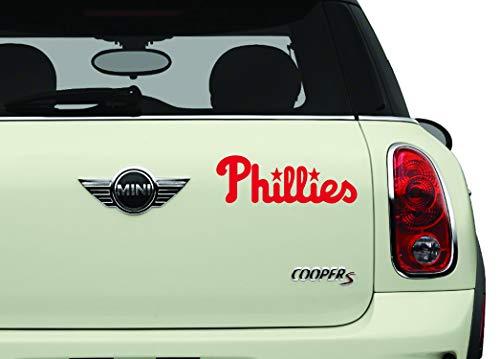 Philadelphia Phillies Red Sports Teams Automotive Decal/Bumper Sticker