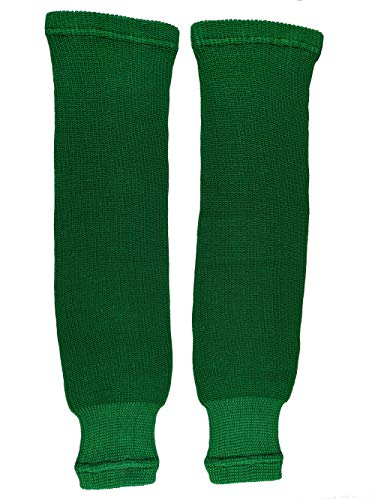 Pear Sox Pro Weight Solid Color Hockey Socks (Kelly, Adult)