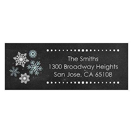 amazon com custom be merry personalized snowflake christmas