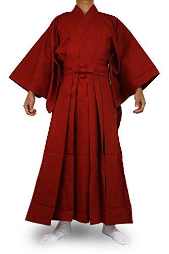 Edoten Japanese Samurai Hakama Uniform RD-RD XL -