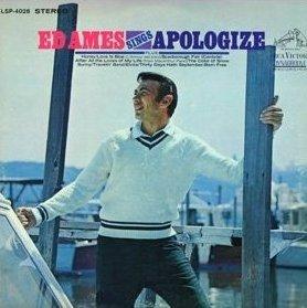 Ed Ames Sings Apologize Ames Ed