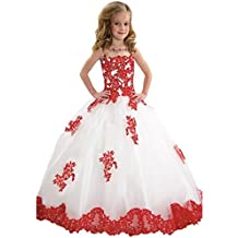 GGE Girl's Ball Gown Pageant Dresses Custom Party Princess