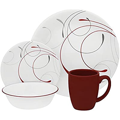 Click for Corelle Round 16-Piece Dinnerware Set, Splendor, Service for 4