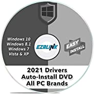 Windows Driver Installation Automatic Install Software DVD for ANY PC Computer (Dell, HP, Asus etc) Easy Updat