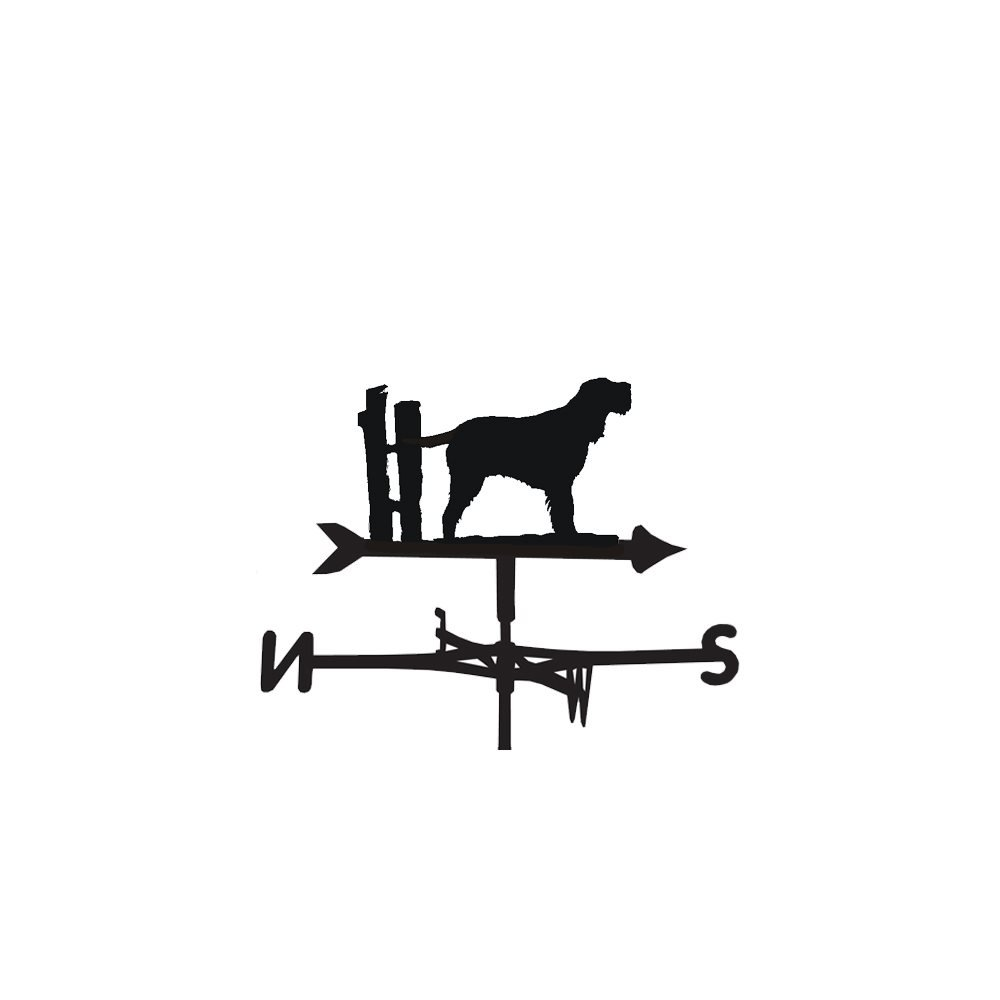 The Profiles Range weathervane in italian spinone design
