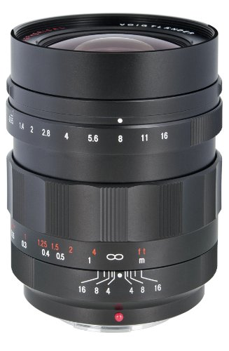 Voigtlander Nokton 17.5mm f/0.95 Manual Focus Lens for Micro 4/3 Mount by Voigtlander