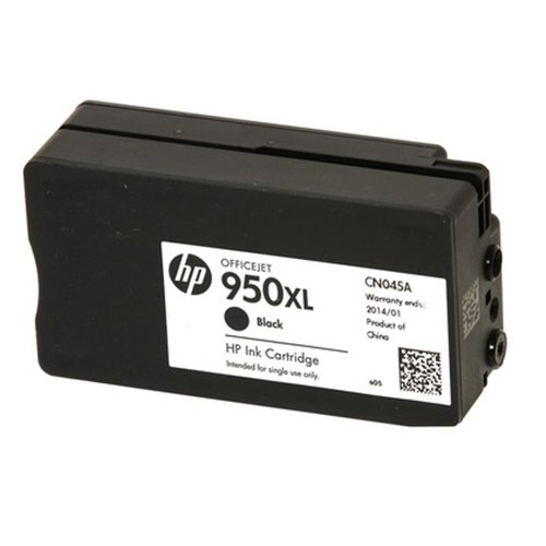 HP 950XL Black High Yield Original Ink Cartridge & 951 Cy...