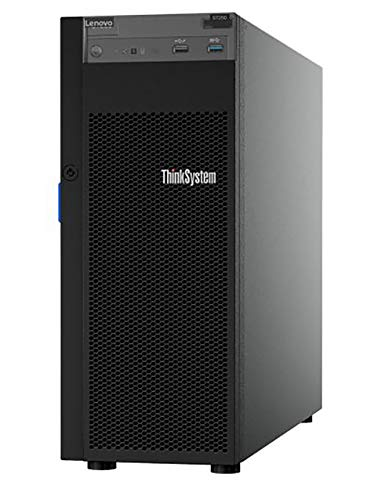 Lenovo ThinkSystem ST250 Tower Server Including Intel Xeon 3.3GHz CPU, 64GB DDR4 2666MHz RAM, 16TB HDD Storage, JBOD RAID