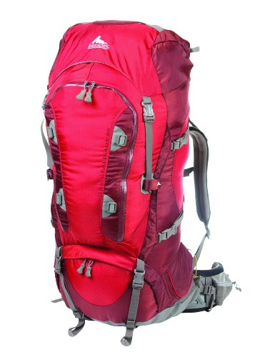 Gregory Mountain Products Palisade 80 Backpack, Cinder Cone Red, Medium, Outdoor Stuffs