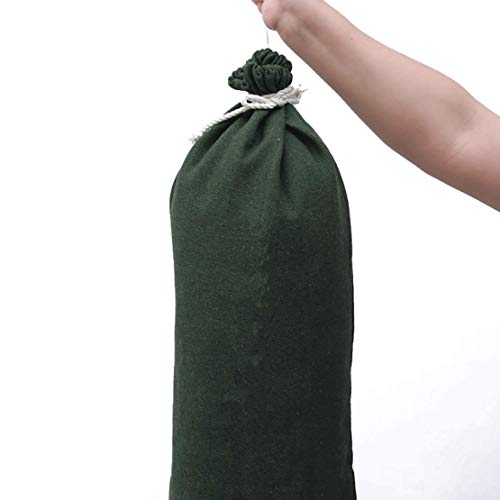 OriginA Empty Sandbag Flood Barrier Sand Bags for Flood Control, Eco-Friendly, 10x16in, 30 Pack, Green by OriginA (Image #1)