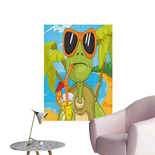 Modern Decor Cool Sea Turtle Sunglasses Dr k g Cocktail The Beach Ideal Kids Decor or Adults,20