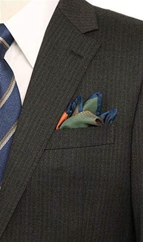 ポケットチーフ【シルク】 SAPRS600