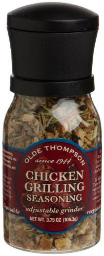 Olde Thompson Chicken Grilling Seasoning Jars, 3.75 Ounce