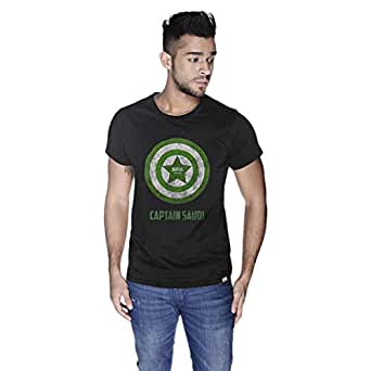 Creo Capital Saudi T-Shirt For Men - L, Black