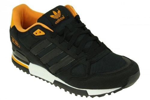 ADIDAS ZX 750 Sneaker Sport Schuhe Gr. 44 Sportschuhe Turnschuhe grau orange